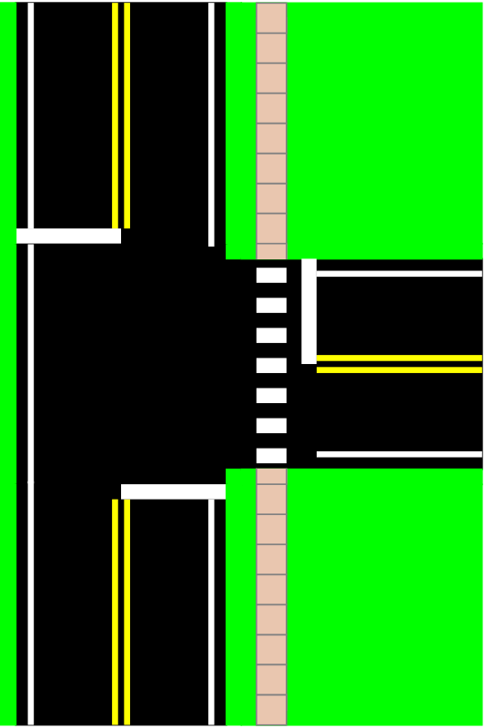 Three Way Intersection