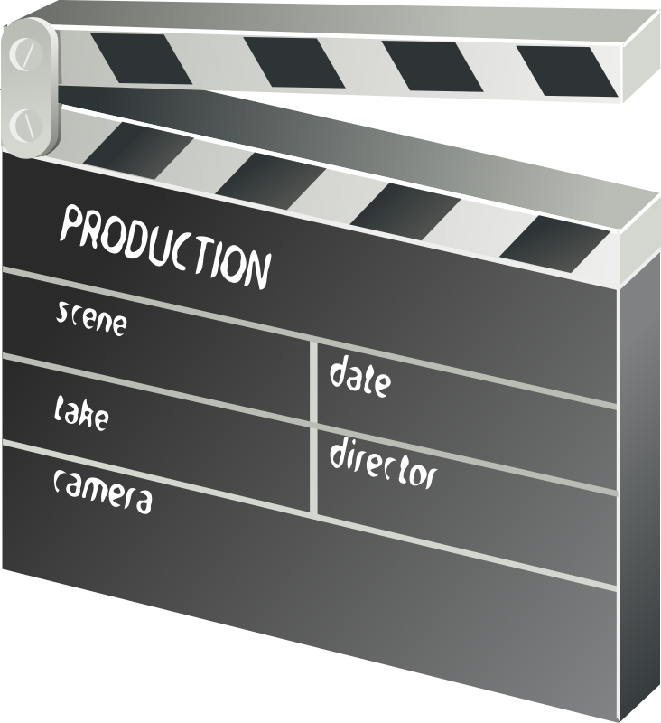 other movie clapper-board