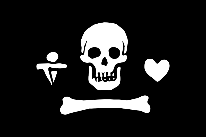 pirate flag - Stede Bonnet