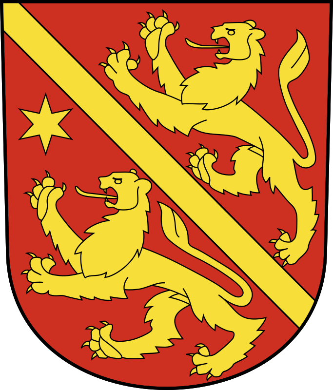 Swiss Andelfingen Coat of arms as a Shield