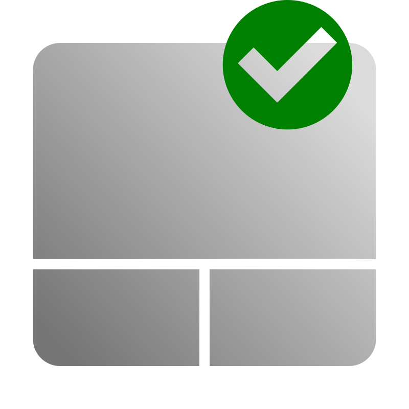 Touchpad Enable Icon