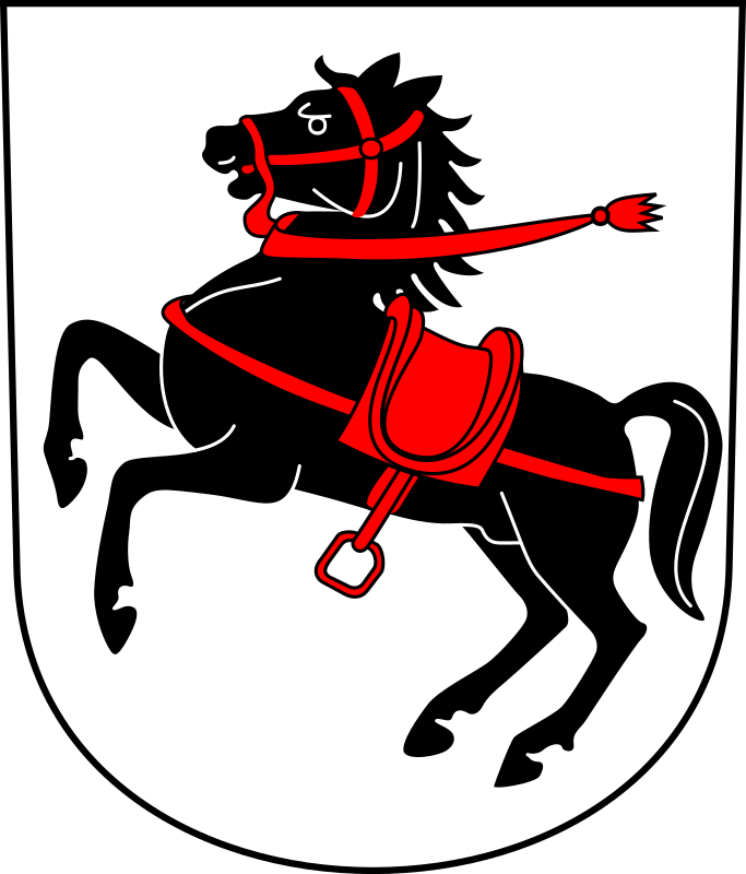 Swiss Seuzach Coat of arms as Shield