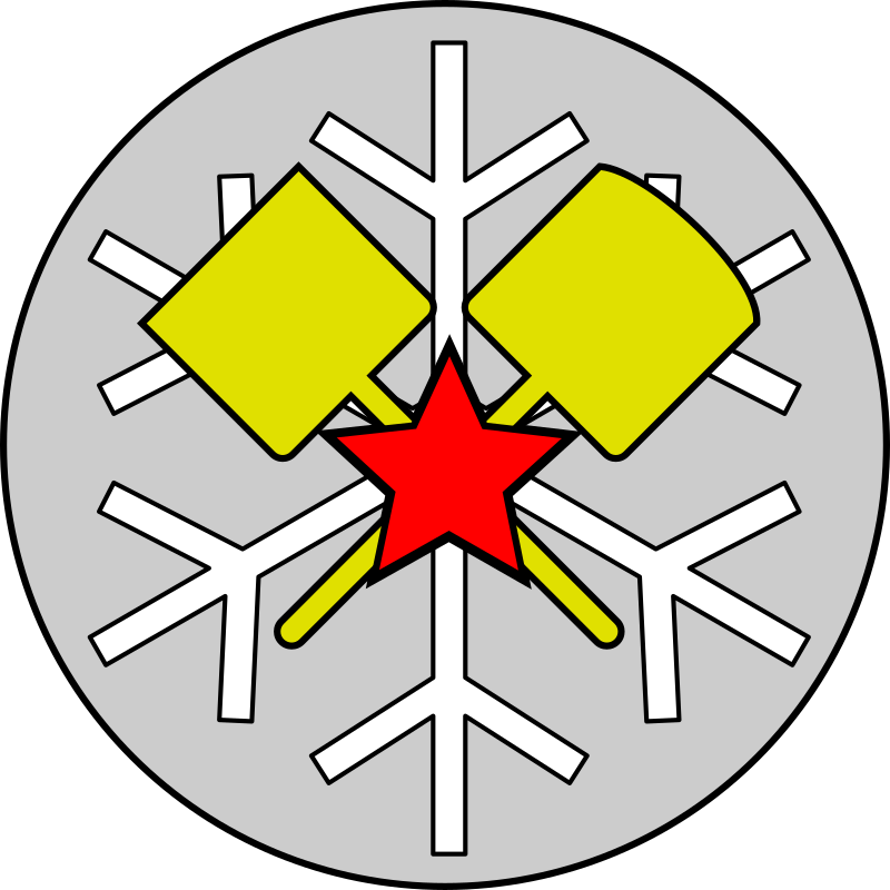 Snow-removal Troops Emblem - Full version