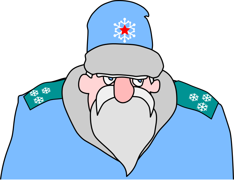 Colonel Frost - russian military Santa Claus