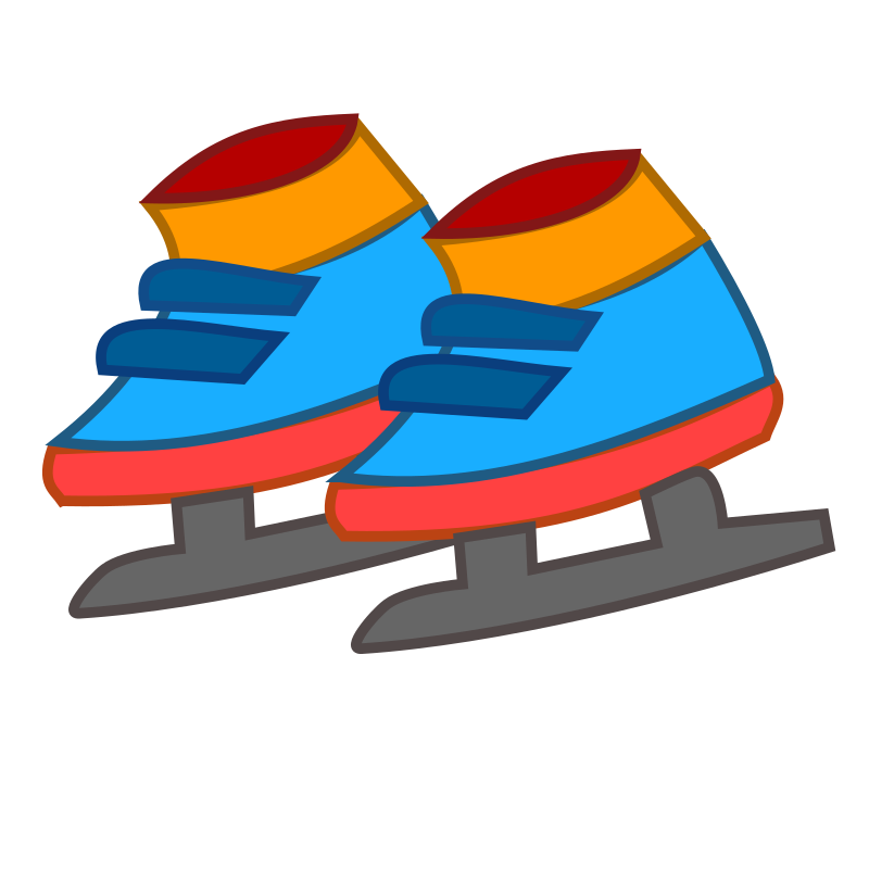 skating shoes icon by netalloy