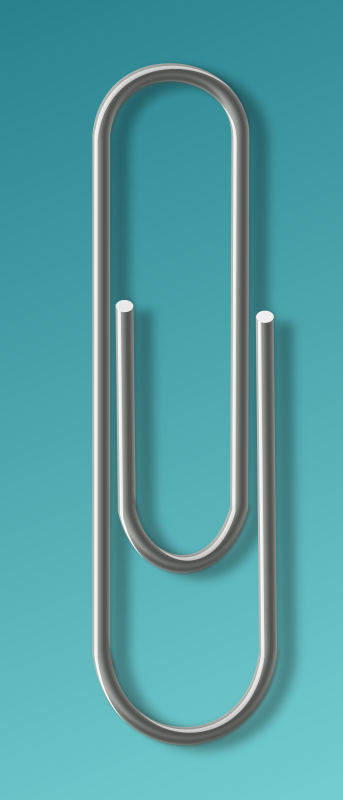 paperclip by rg1024 -