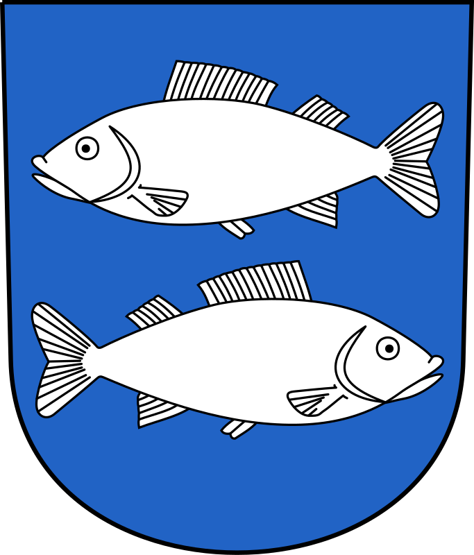 Fischenthal - Coat of arms by wipp - Coat of arms of Fischenthal, Zürich, Switzerland