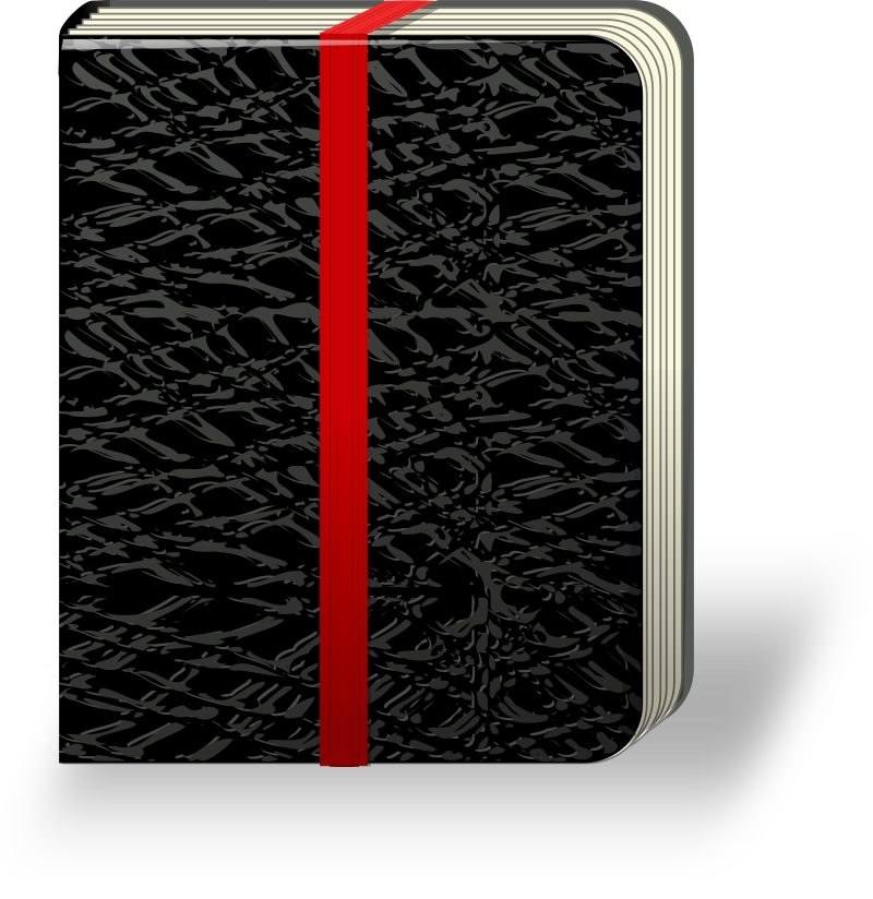 black notebook by rg1024 - black notebook.