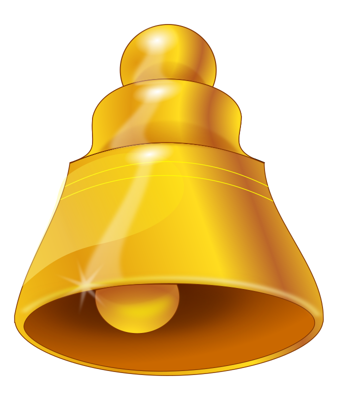 bell by tomas_arad - just one bell, done in Inkscape.