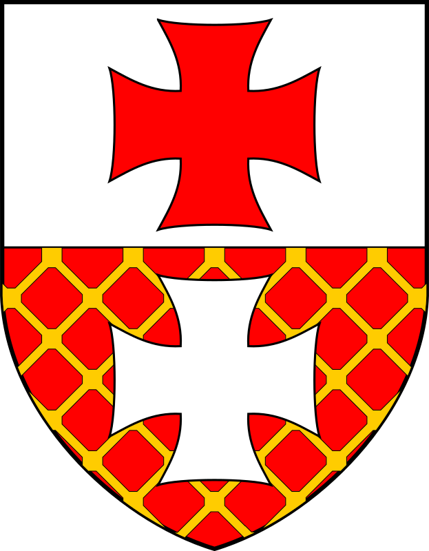 Elblag - coat of arms by warszawianka - The coat of arms of a Polish city of Elblag. Public domain. Submitted to Wikimedia Commons by user WarX.