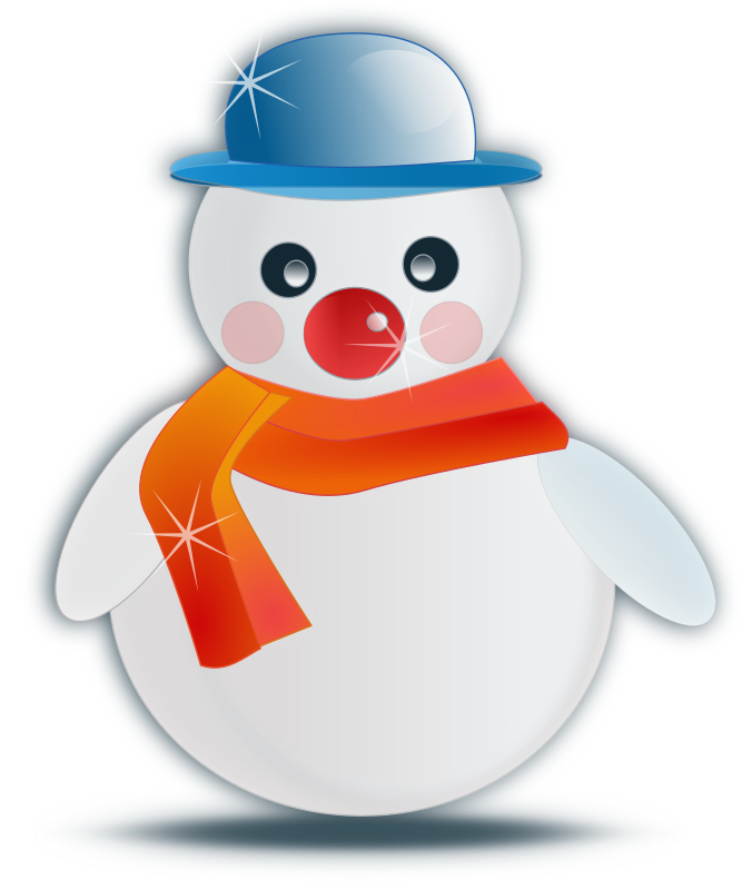 Snowman glossy by netalloy