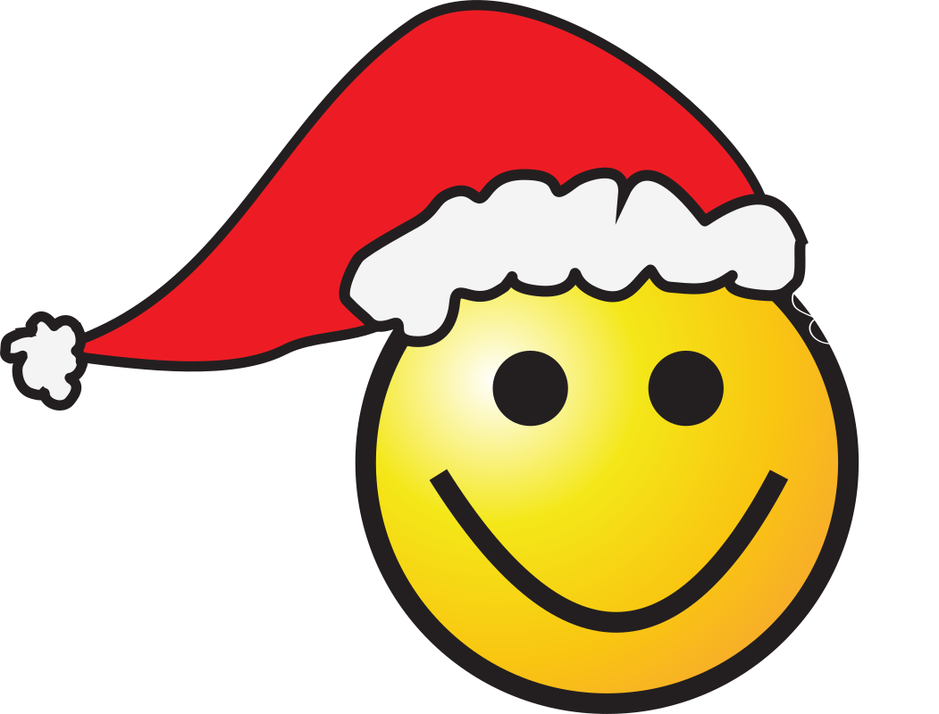 Santa-Smiley by zorro - Christmas-Smiley