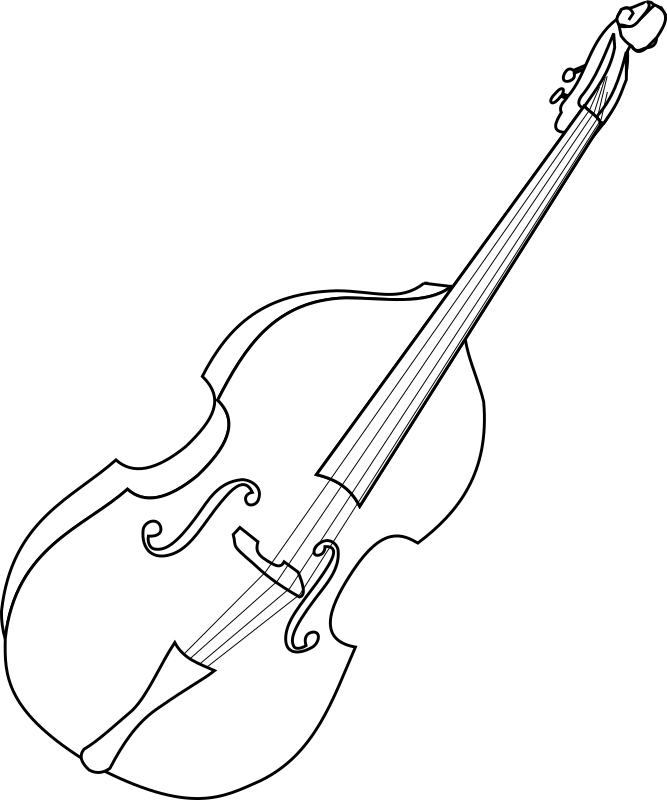 double bass 1 by papapishu