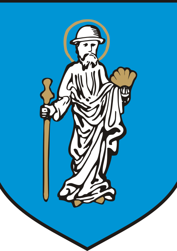 Olsztyn - coat of arms by warszawianka - Coat of arms of Polish city of Olsztyn. Public domain. Submitted to Wikimedia COmmons by users WarX and Poznaniak.