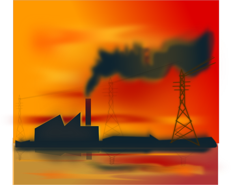 industrial pollution clipart - photo #26