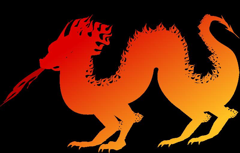 Clipart - dragon