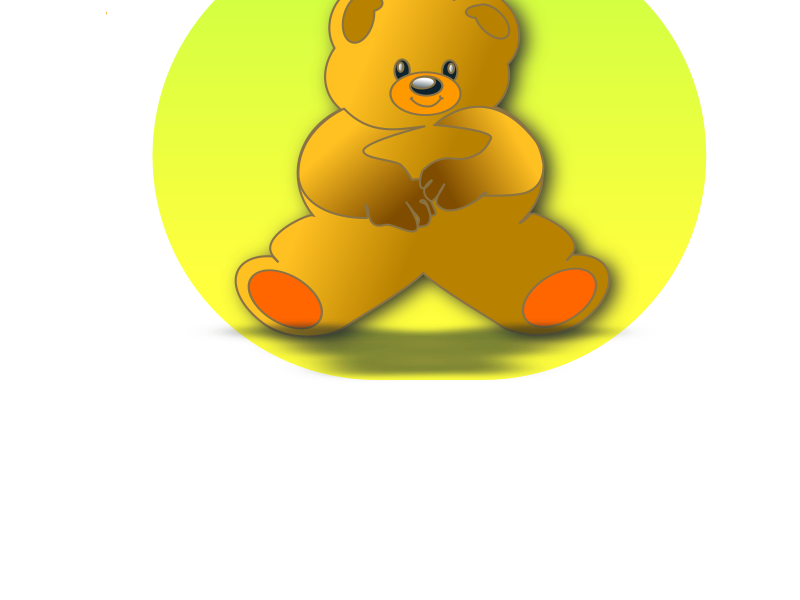 Teddy Bear by netalloy - bear cub, birthday, children, clip art, clipart, gift, kids, mohair, stuffed animal, stuffed toy, teddy bear, valentines day 2011,