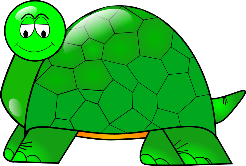 Turtle by iammisc - A simple crystal turtle that I made as a logo for one of my long-forgotten sourceforge project.