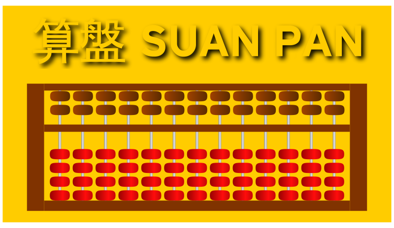 Chinese Suan Pan  by filtre
