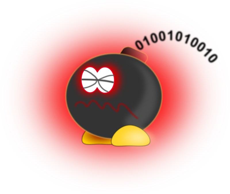 Clipart logic bomb