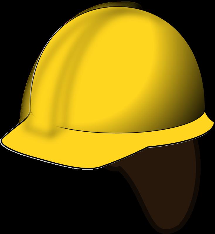 yellow hard hat clipart - photo #43