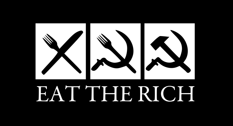 eat the rich by worker - eat the rich.