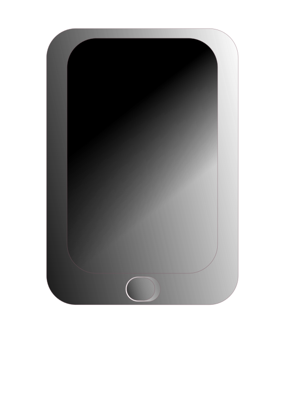 i phone by Jake Rodriguez - simple drawing of a cellular device.