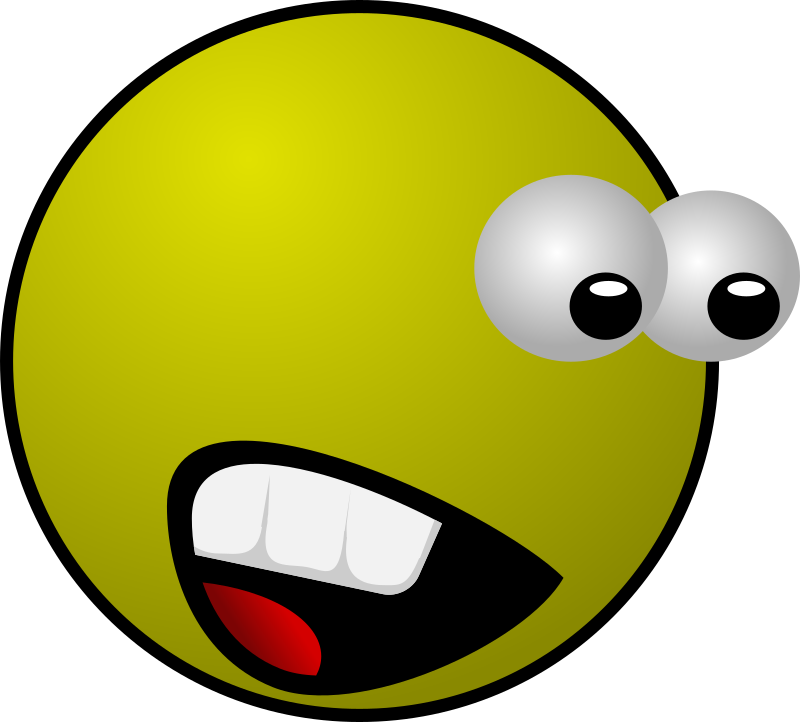 Scared by vojtam - A scared smiley.