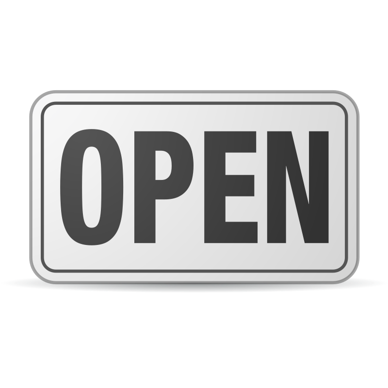 Open Sign plastic by jhnri4 - Open Sign