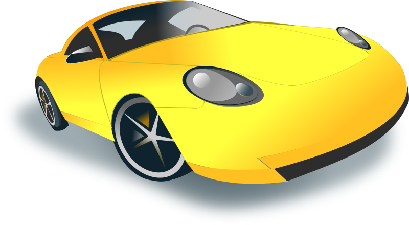 sports car by netalloy - motor sports clip art by netalloy