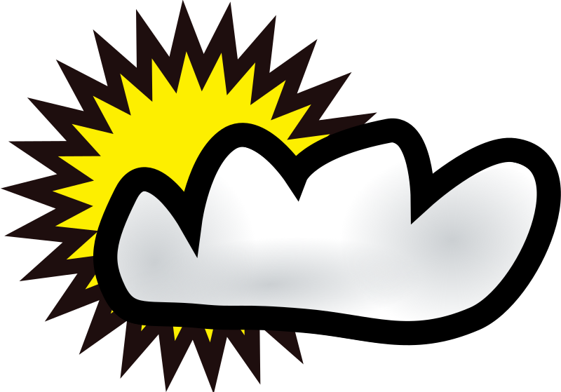 clouds by yves_guillou - A clouds icon.