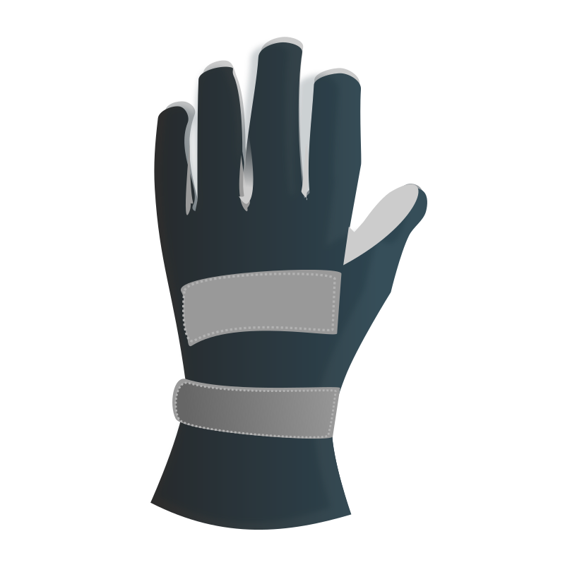 racing gloves by netalloy - Motor Sports Clip art