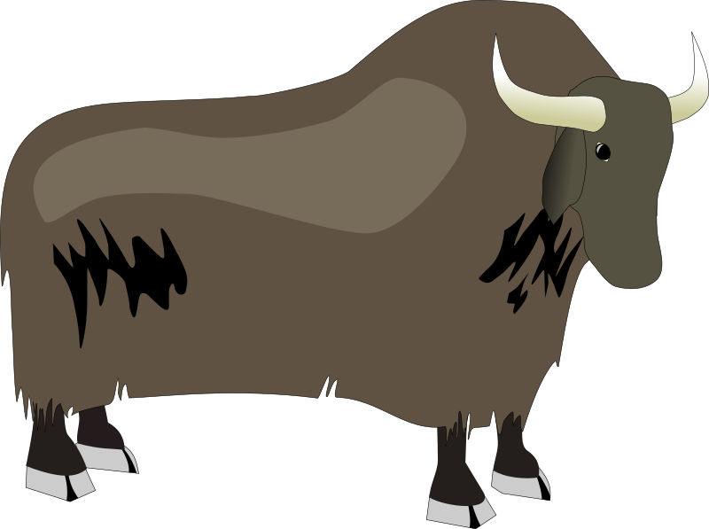 Yak by Deluge - A cartoon style drawing of a Yak.
