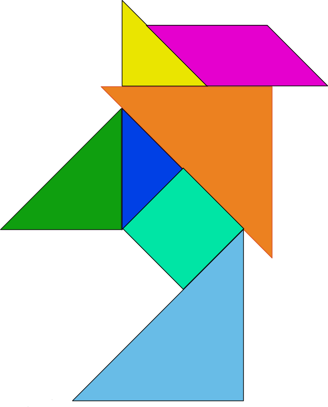 tangram by yves_guillou - Tangram shape.
