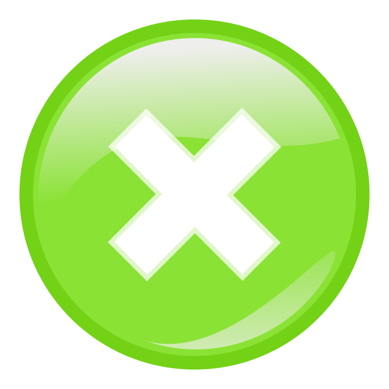 green round submit icon by molumen - a green round submit icon