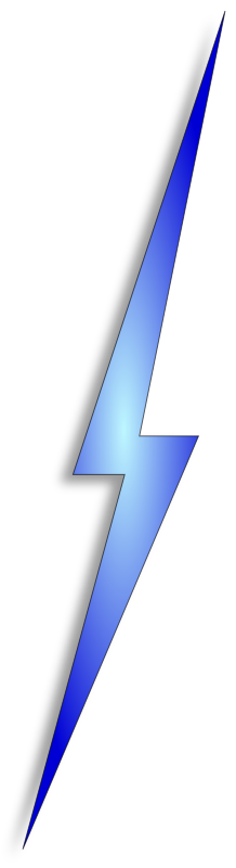 bolt1 by cfry - Lightning bolt - I use it to represent a VPN in network diagrams