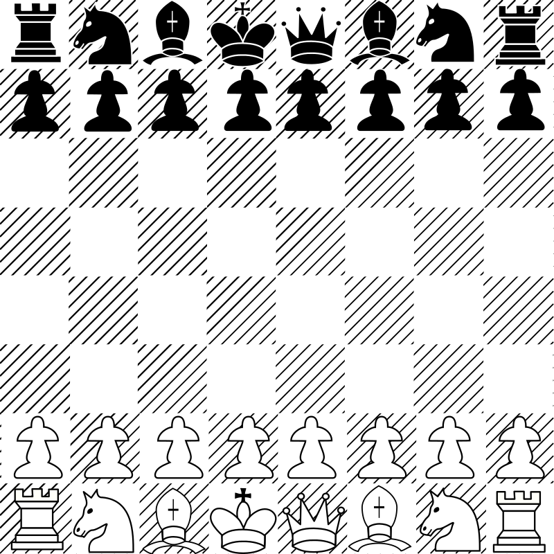 chess game 01 by Anonymous - Originally uploaded by Jose Hevia for OCAL 0.18