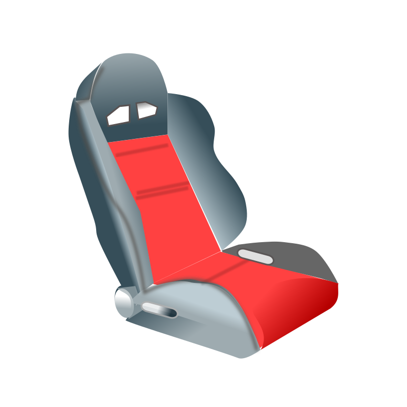 racing seat by netalloy - motor sports clip art by NetAlloy