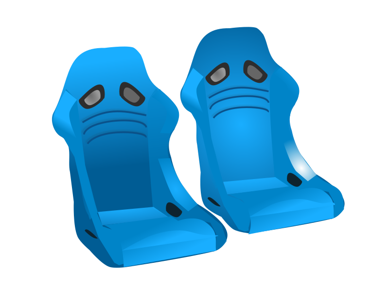 Clipart - racing seats Race 2