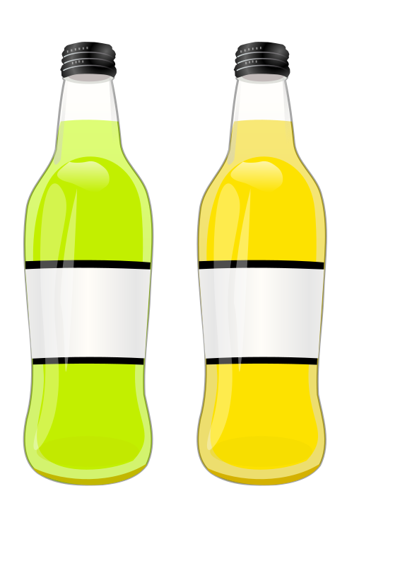 bottles by tomas_arad - I not put the Inkskape logo just for maximaze the useability.