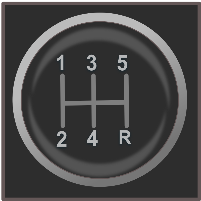 gear shift knob icon by netalloy