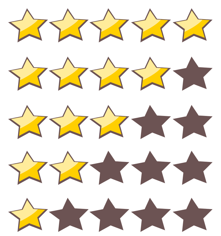 5-Star Rating System by paro - A 5 star rating system.