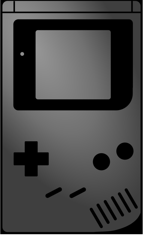 gameboy icon style by vexar - This is just an iconic, flat and clean version of the original.  Suitable as an icon for one of those shiny phones.