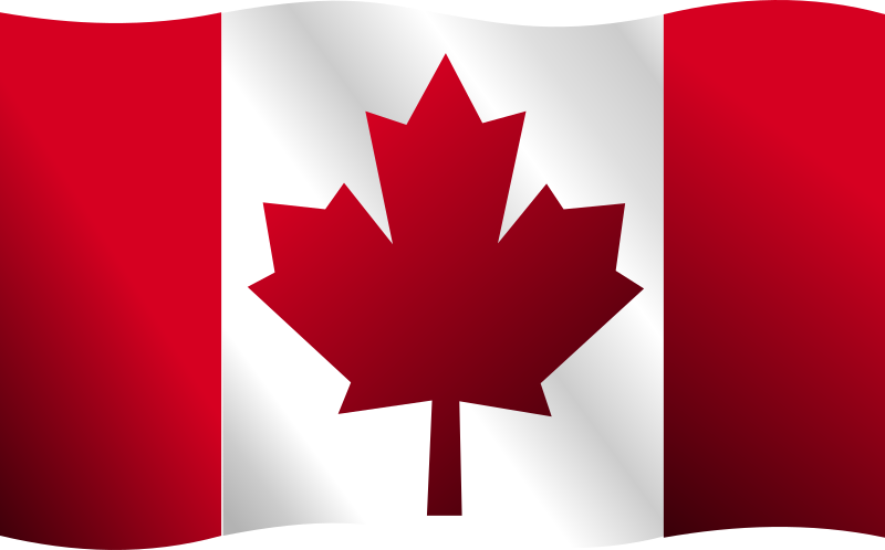Canadian Flag by Merlin2525