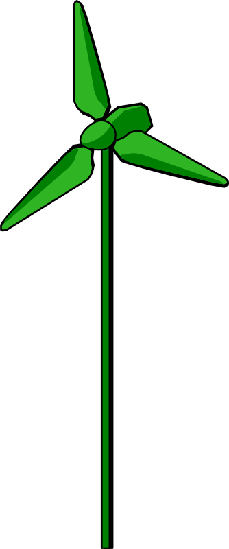 Wind Turbine Green by energie_positive -