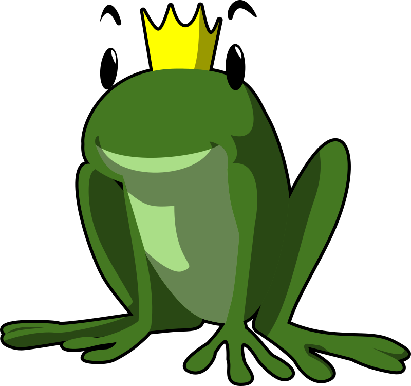 frog prince by tzunghaor - A cartoon frog prince!
