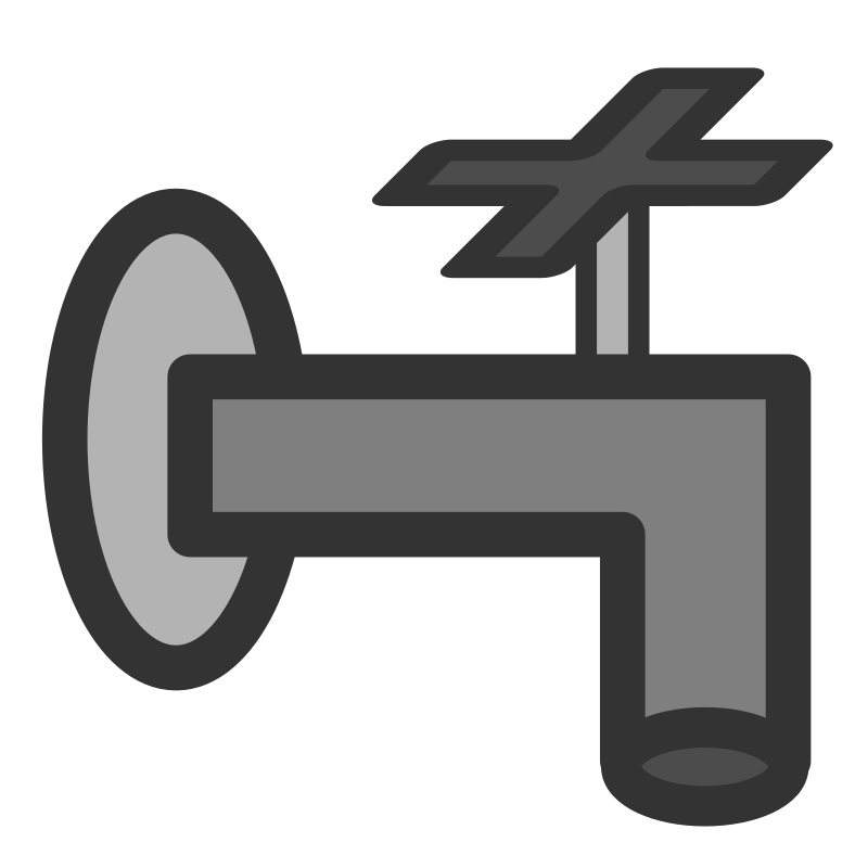 pipe by dannya - Originally uploaded by Danny Allen for OCAL 0.18 - this is one icon from the flat theme