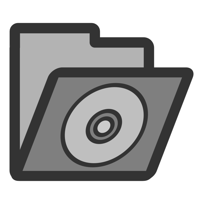 ftfolder cd by dannya - Originally uploaded by Danny Allen for OCAL 0.18 this is one icon from the flat theme