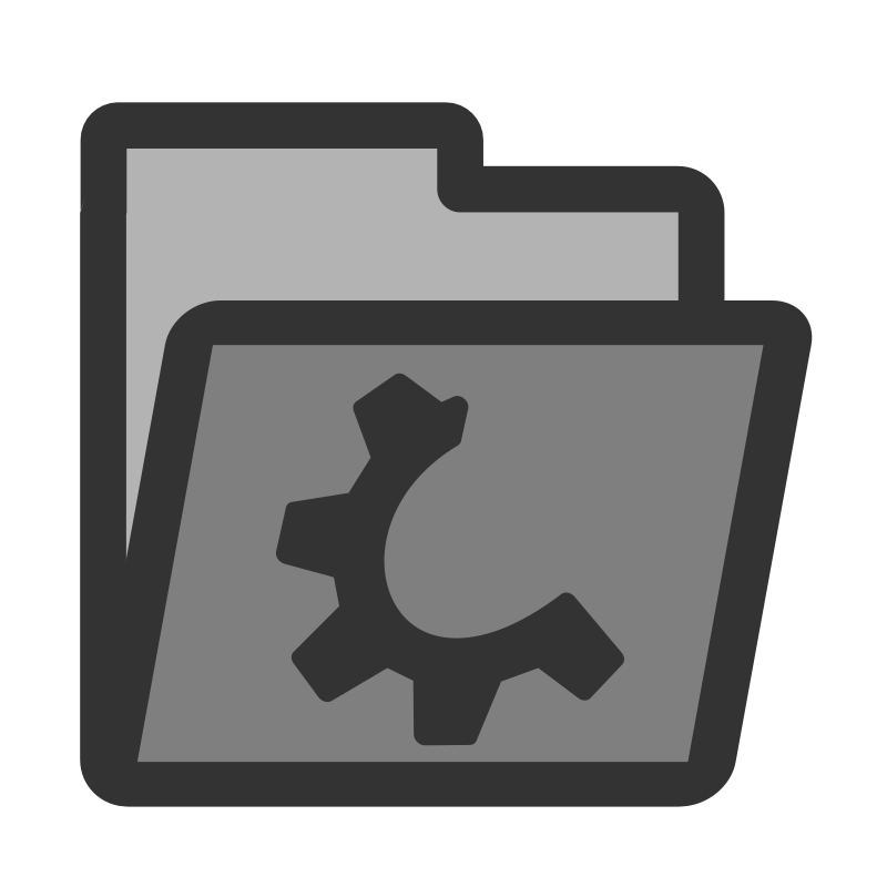 ftfolder grey by dannya - Originally uploaded by Danny Allen for OCAL 0.18 this is one icon from the flat theme