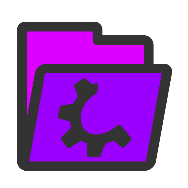 ftfolder violet by dannya - Originally uploaded by Danny Allen for OCAL 0.18 this is one icon from the flat theme
